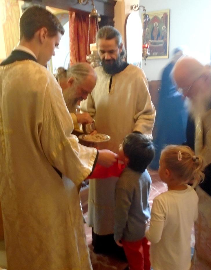 Divine Liturgie Communion