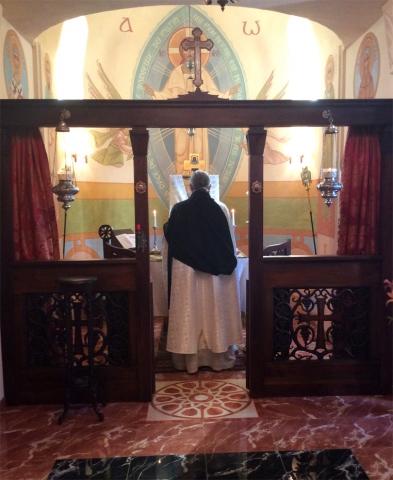 Divine Liturgie Bénédiction initiale