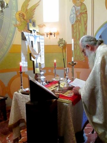 Divine Liturgie Prière de l'inclination