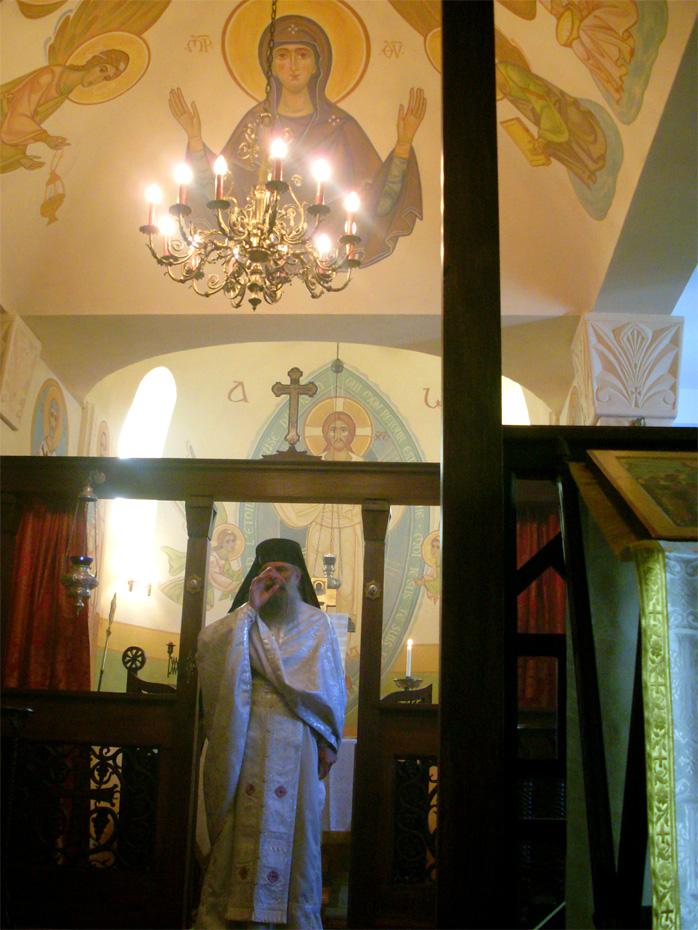 Divine Liturgie Bénédiction