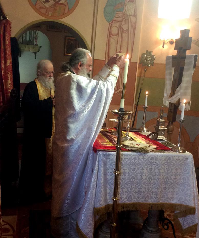 Divine Liturgie Elévation