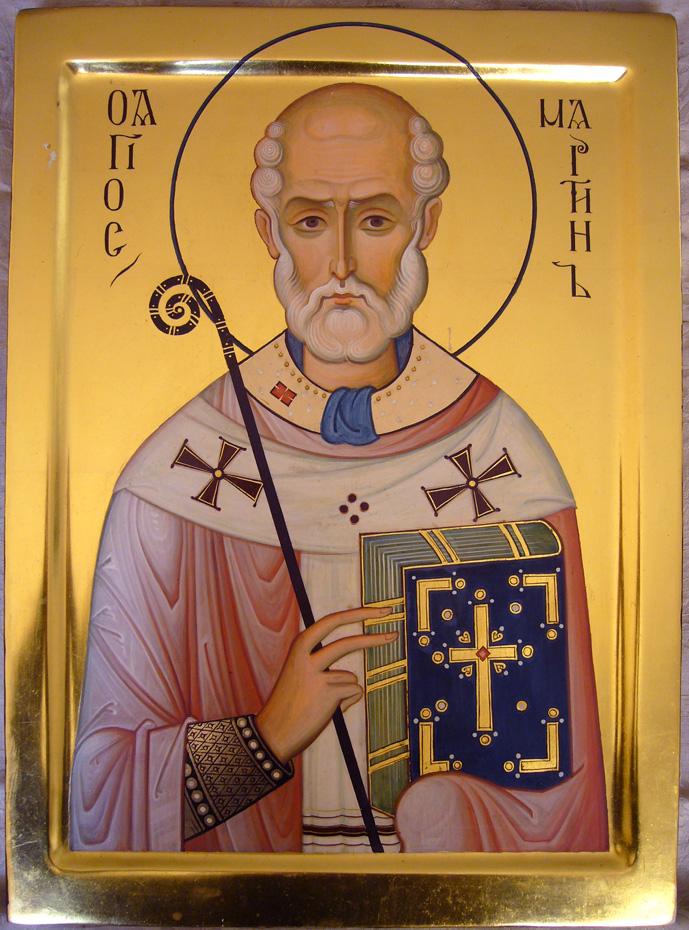 Saint Martin, patron du monastère