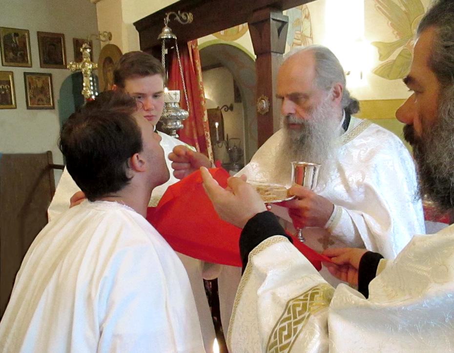 baptême d'adulte première communion