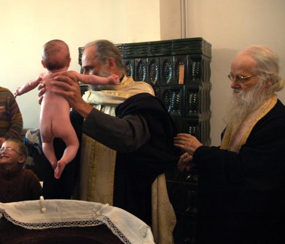 baptême d'enfant