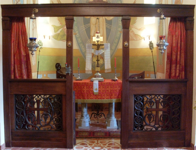 église, le templon