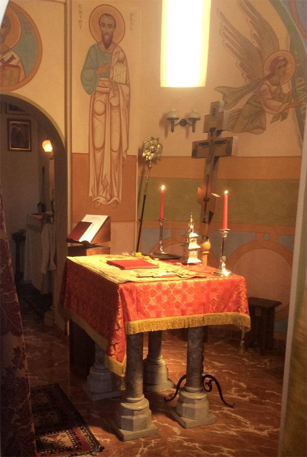 église, l'autel