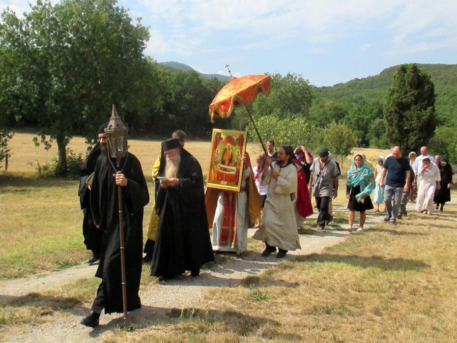 procession de la Dormition