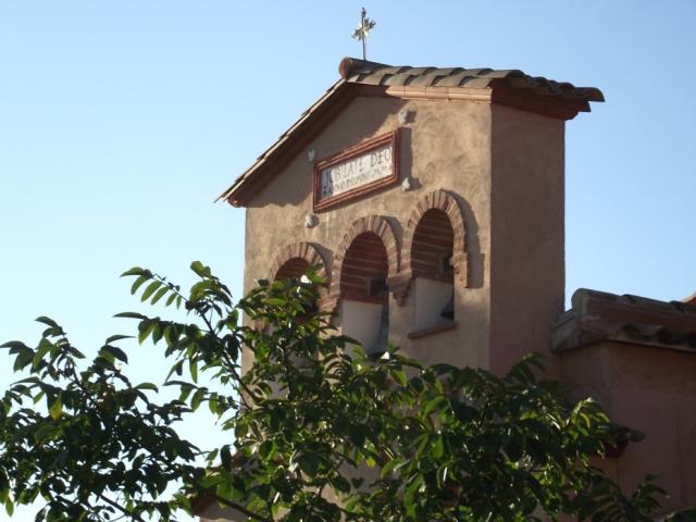 vue extérieure nord : clocher