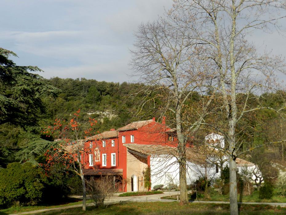 vue extérieure sud